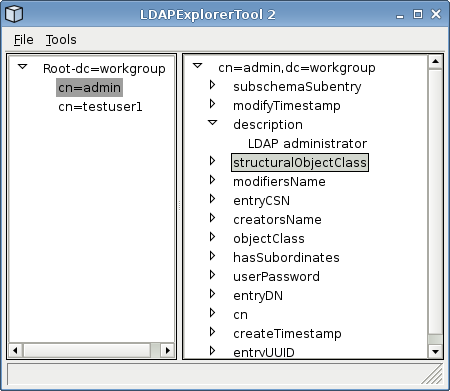 LDAP Explorer Tool: a multi platform LDAP browser and editor